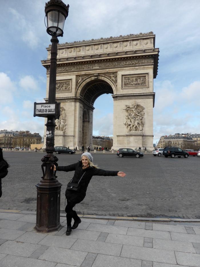 L'Arc de Triomphe!