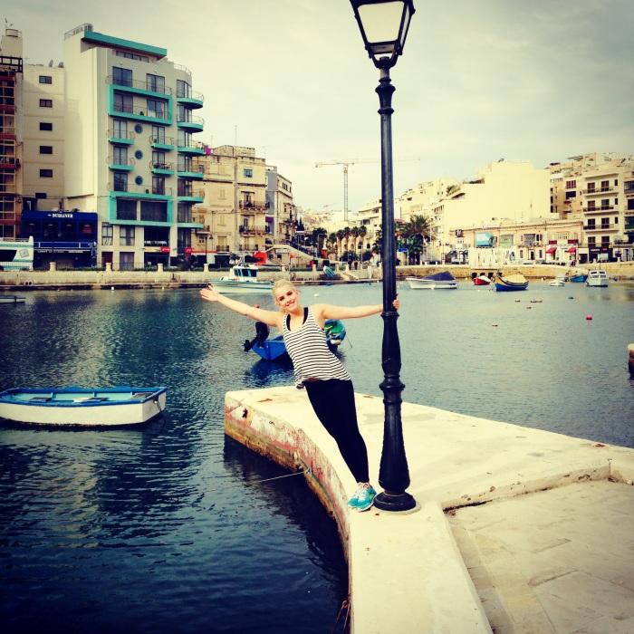 Swinging in the Bay