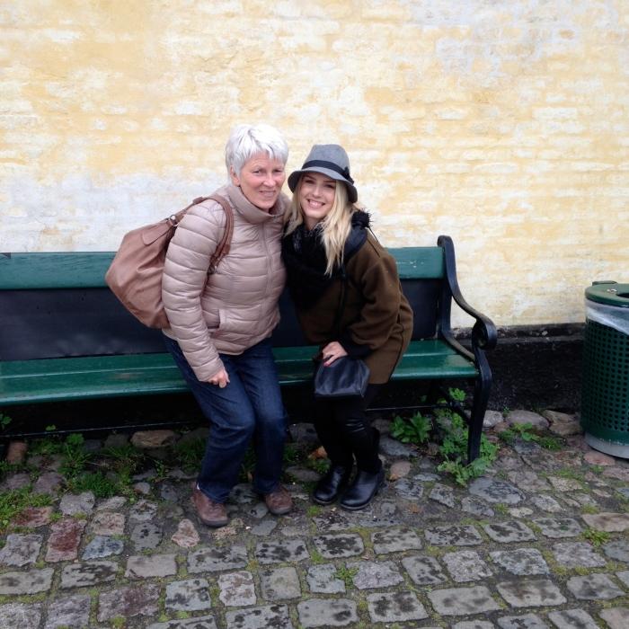 Inge and I