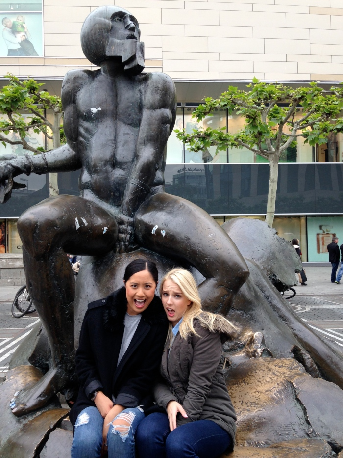 Monumental Nudity- So not Dubai appropriate!! But very funny ;)