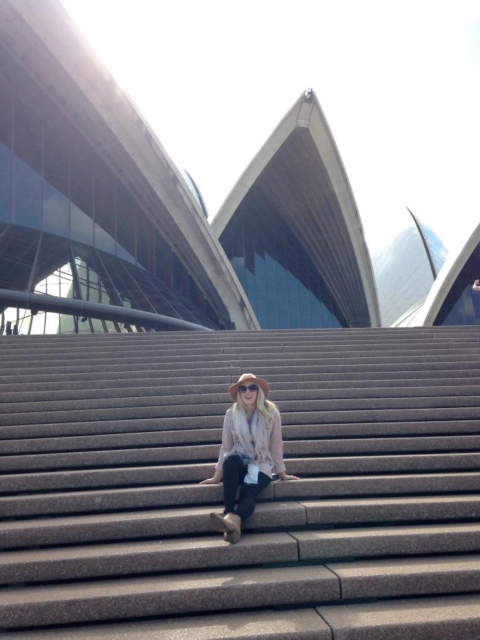 Opera House Steps!