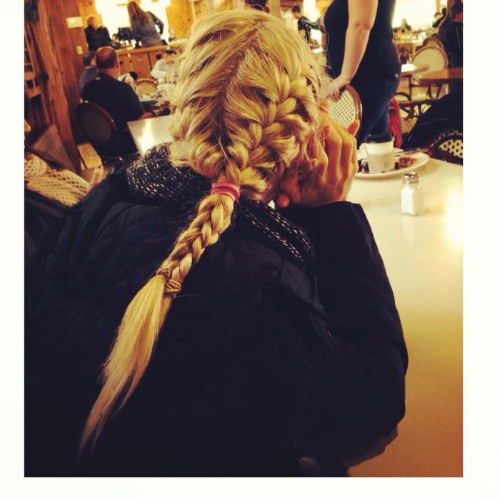 My Elsa hair! (Designed by J Bingham)
