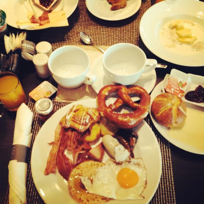 My HUGE breakfast