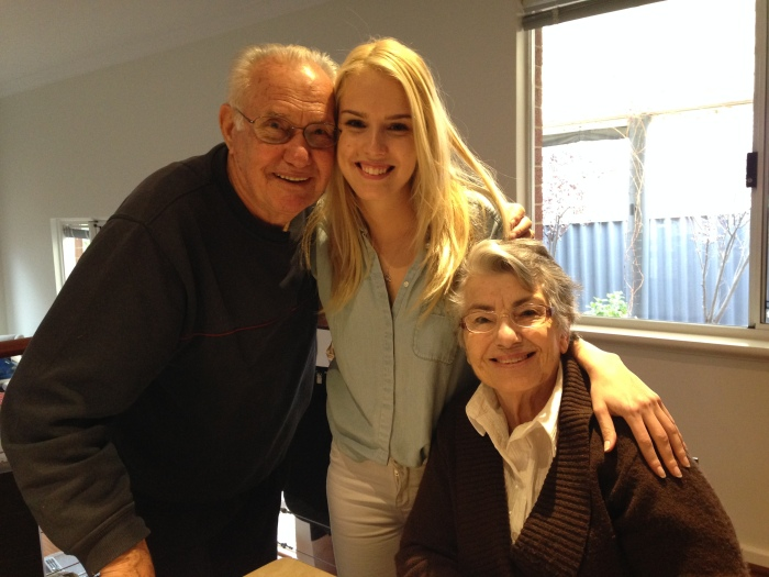 My grandparents and I