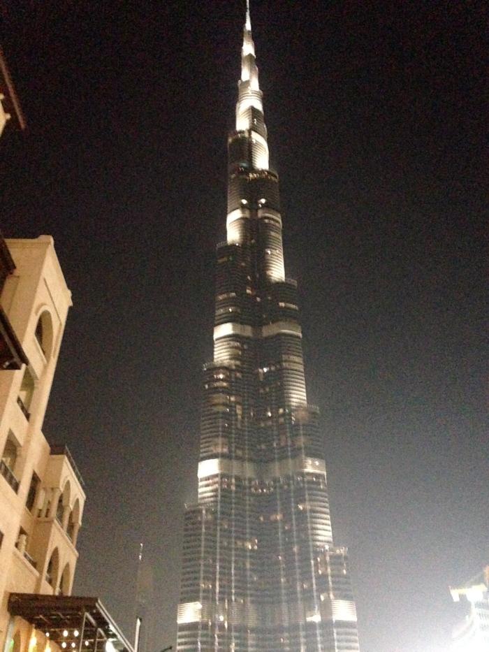 Burj Khalifa from Souk Al Bahar