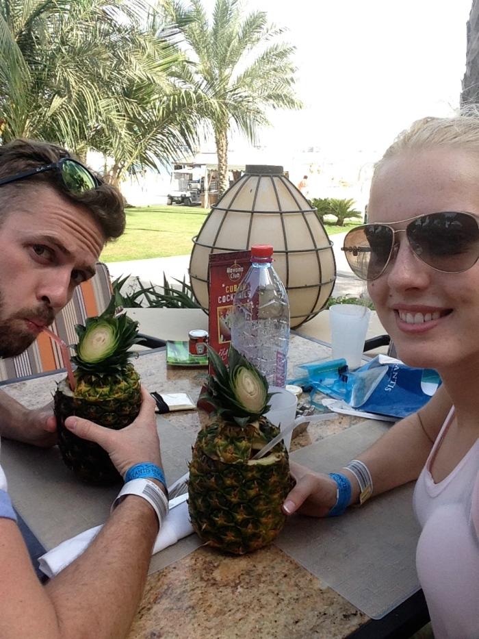 Pineapple Pina Coladas!