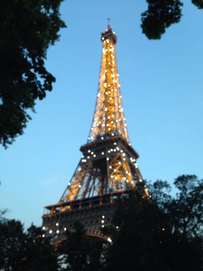 The Eiffel Tower, picture perfect in summer!