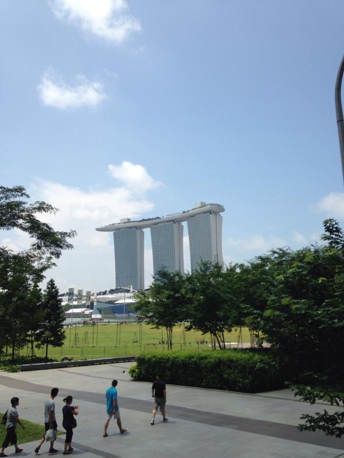 Marina Bay by day