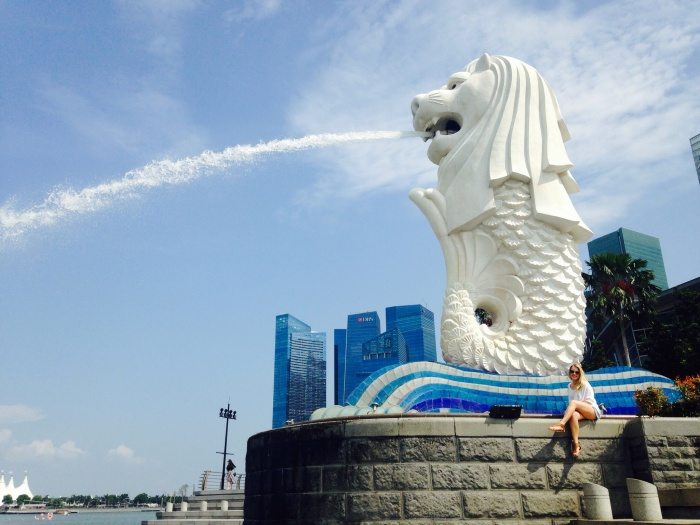 Mr Merlion and I