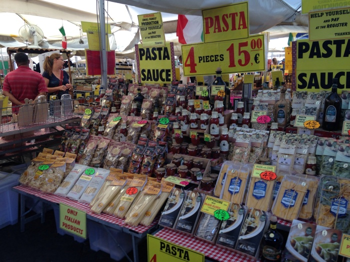 Markets in the Piazza!