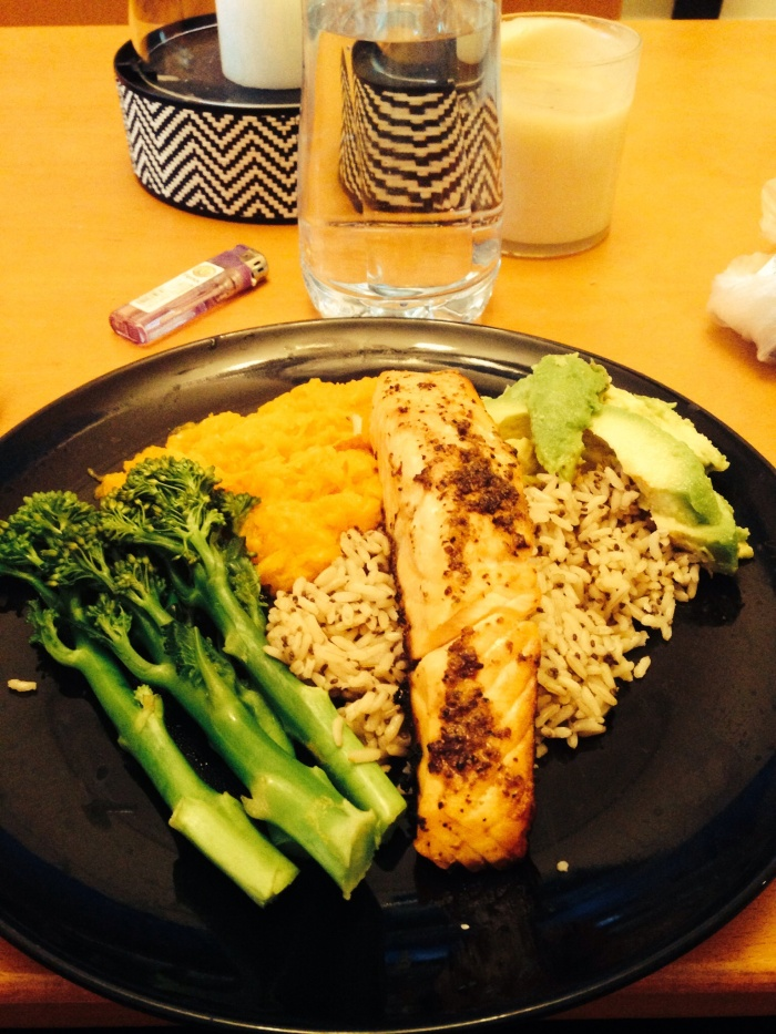 I cooked many healthy meals like this, to help my health come back!