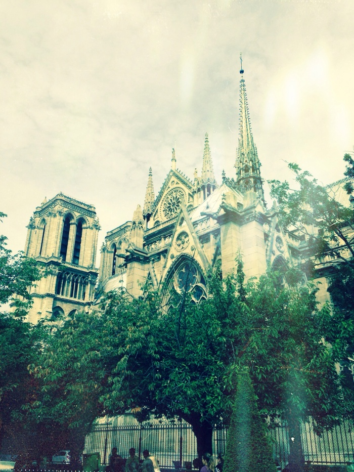 I would not have been able to take this gorgeous shot of Notre Dame had I not gotten lost (and asked how to get back!)