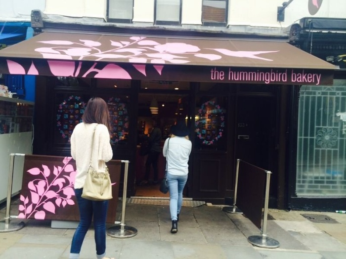 Hummingbird Bakery: on a mission for Red Velvet Cupcakes!