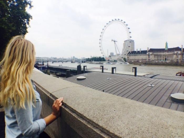 London Eye through my own