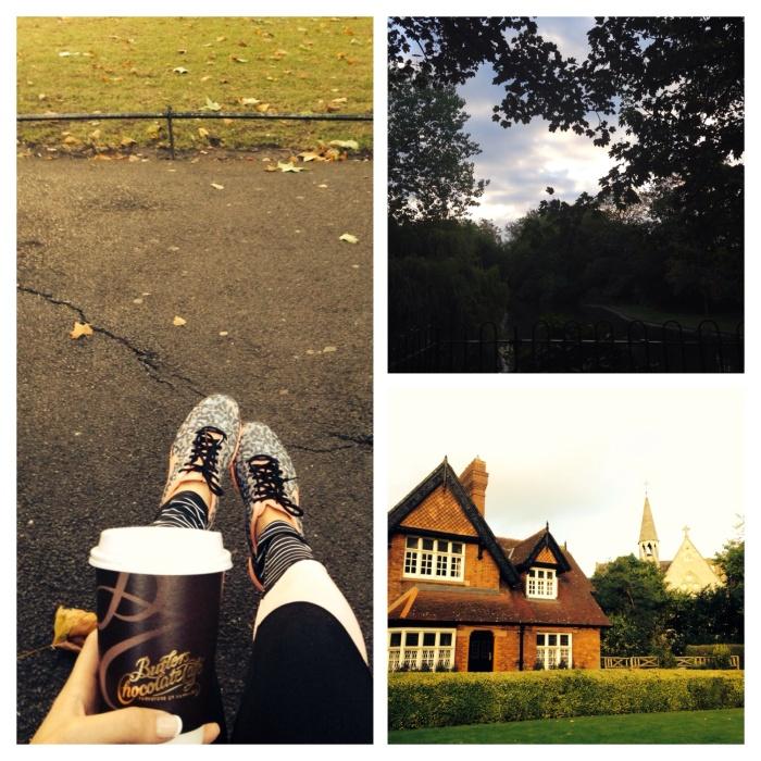 Morning on St Stephen's Green