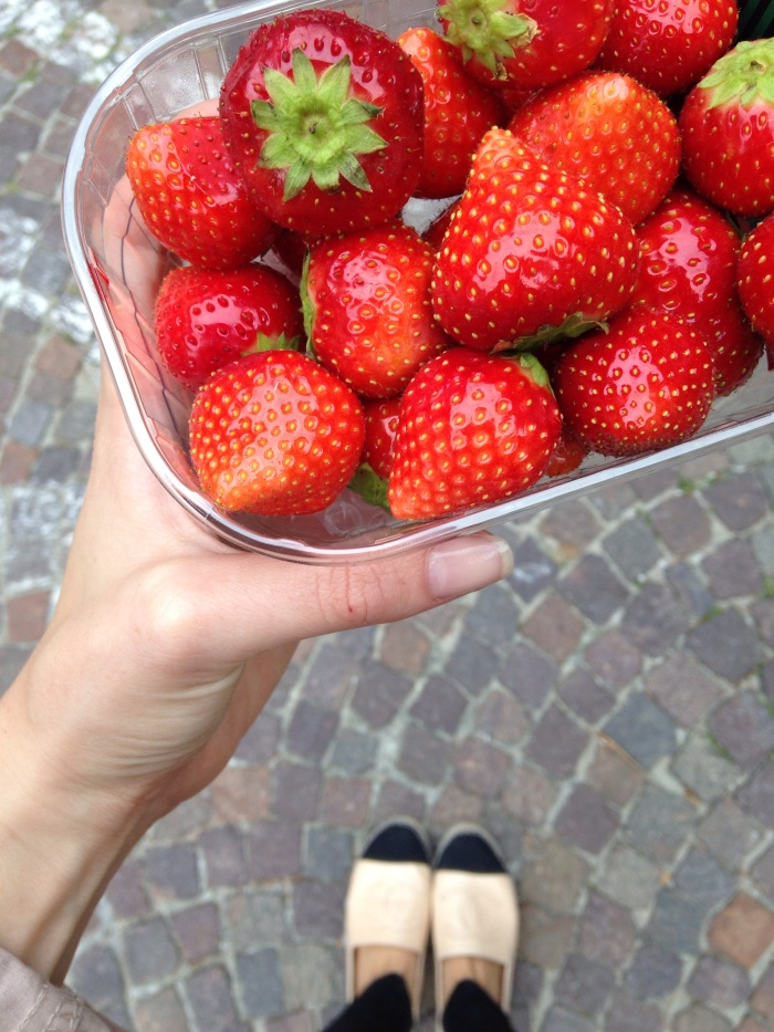 Fresh berries and Chanel...does life get any better?!