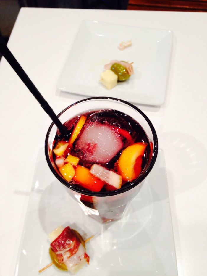 Gourmet Sangria for less than a dollar :D