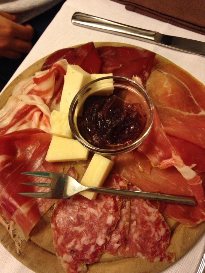 Prosciutto, my favourite!