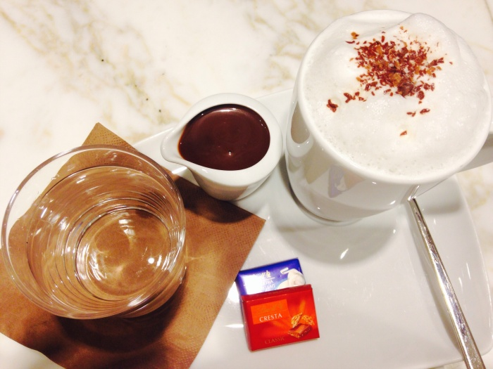 Swiss hot chocolate!