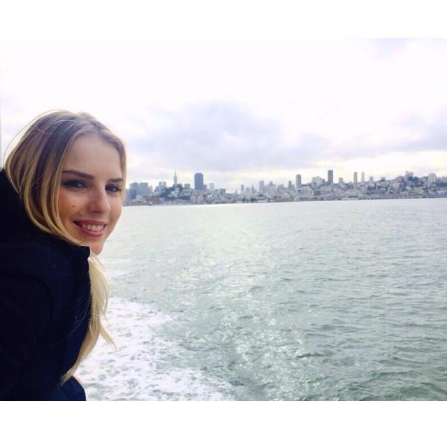 On the way to Alcatraz!