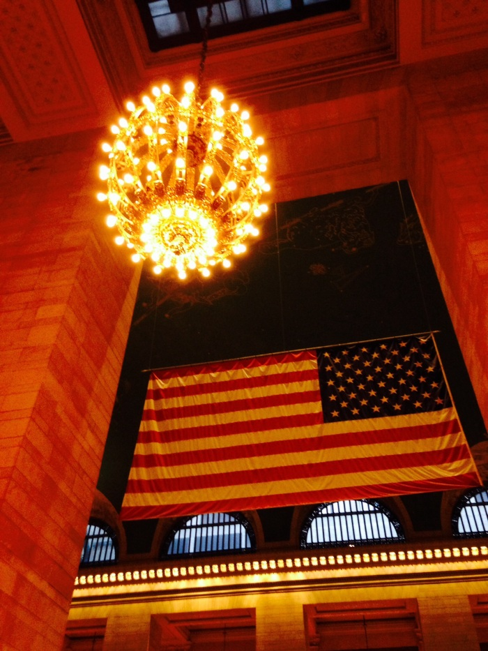 Patriotism in Grand Central