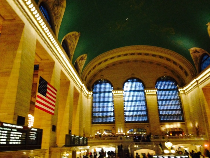 """Somebody saw Serena get off the train at Grand Central!"" Gossip Girl moment..."
