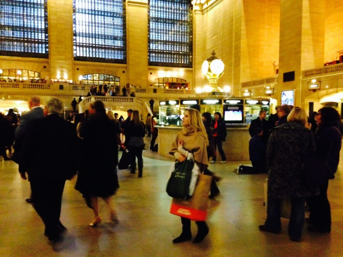 Blending in at Grand Central