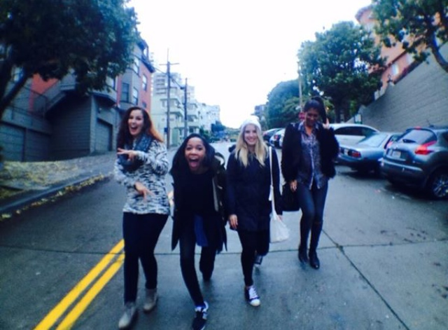 Our 90s girl band shot :P