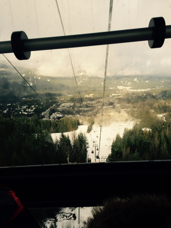 The peak to peak Gondola ride