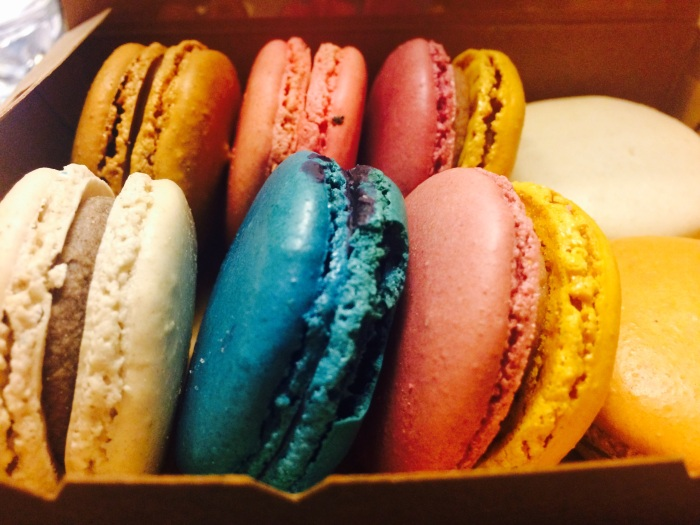 Macarons- food for the soul (and self proclaimed cure of jet lag in many shapes and forms)