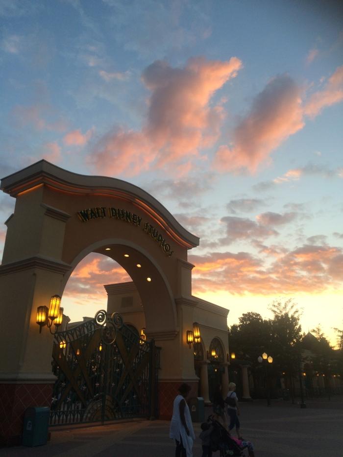 The sun setting on a beautiful day :)