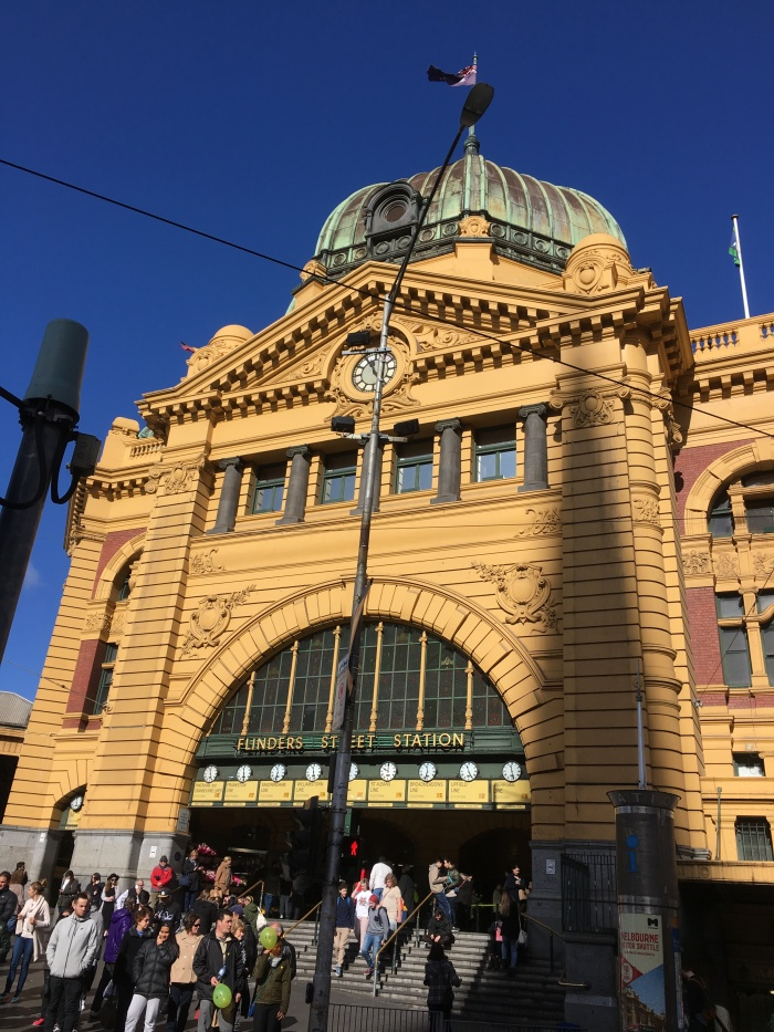 The Iconic Flinder's Street Station